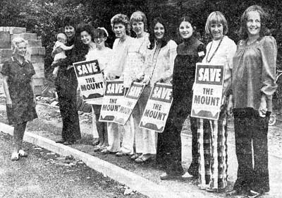 Save The Mount - July 1973